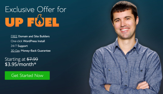 UpFuel Bluehost Offer